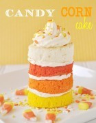 Candy Corn mini cake