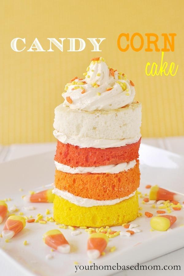 Candy Corn mini cake