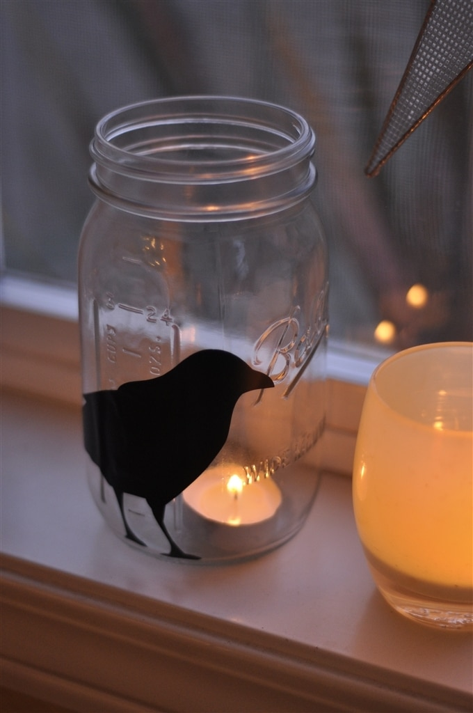 Easy Halloween Mason Jars By Leigh Anne Wilkes