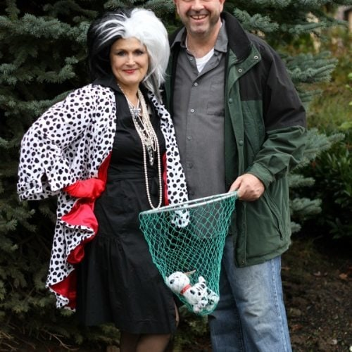 Cruella De vil and Horace