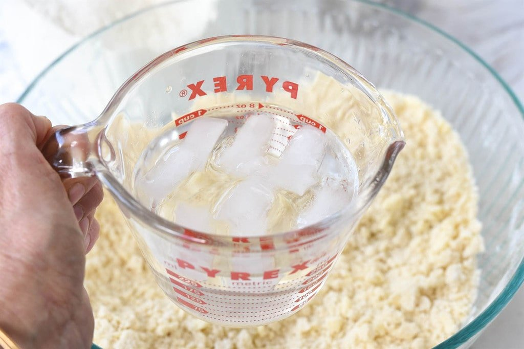 Cold Water for Pie Crust