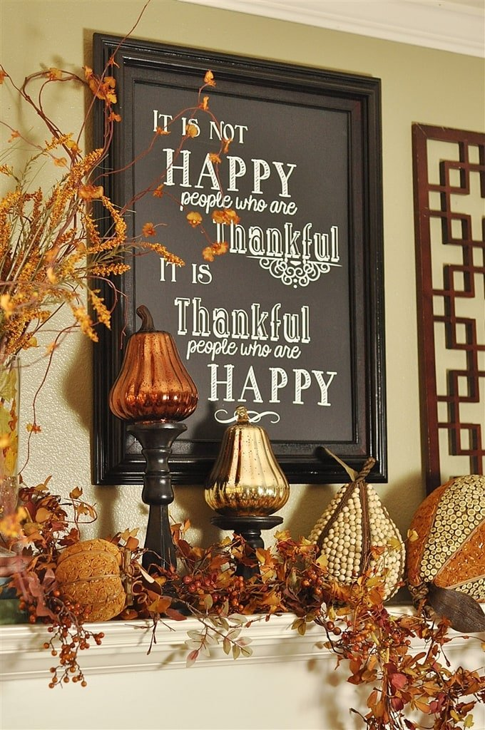 Thanksgiving Decor Giveaways And A Little Housekeeping