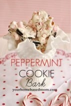 peppermint cookie barkrs