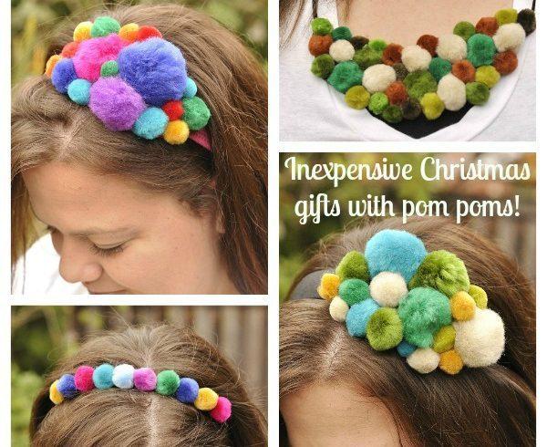 Pom Pom Headbands and Bib Necklaces