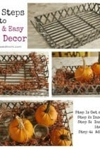 Four Steps to Quick & Easy Table Decor