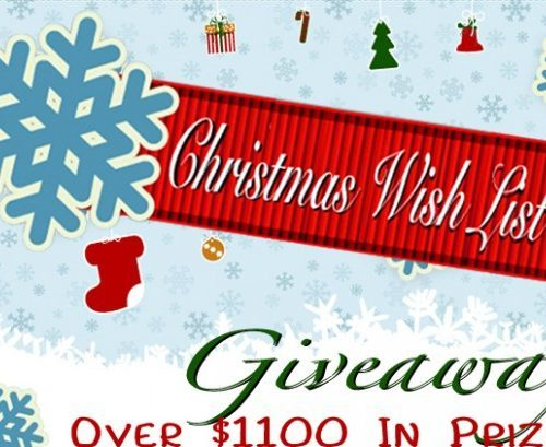 Christmas Wish List Giveaway – $1,100 in prizes!