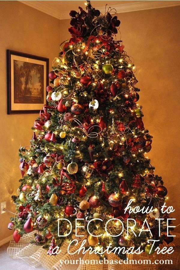 How to decorate a christmas tree tutorial How do you decorate a christmas tree