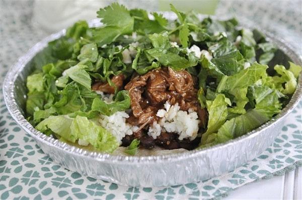 Cafe Rio Sweet Pork Salad