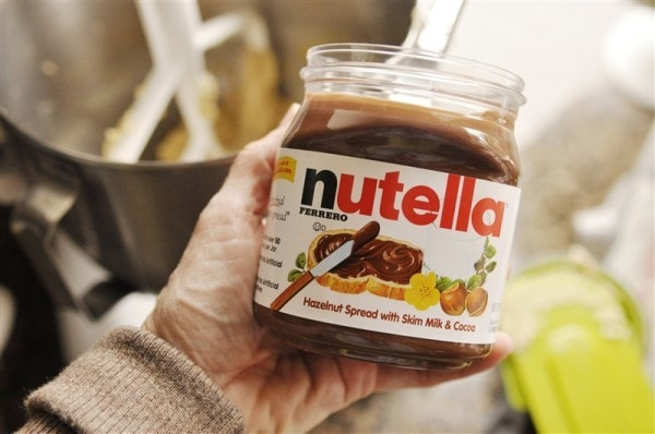 Nutella-chocolate-chip-cookie