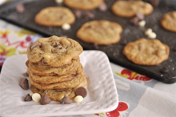 Triple Chocolate Chip Malt Cookie