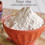Bowl of gluten free flour