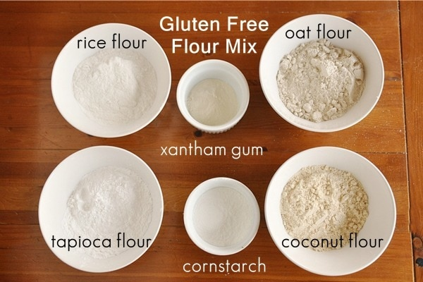 Oat Flour And Rice Flour Cakes
