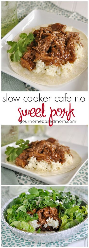 slow cooker cafe rio sweet pork