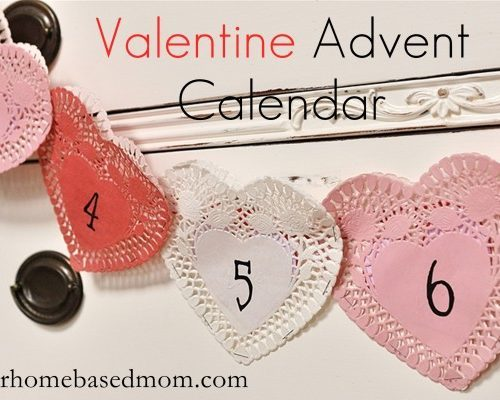 Valentine Advent Calendar {Activity Day Idea}