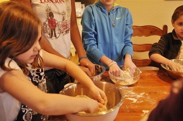 Activity Day Pie Making