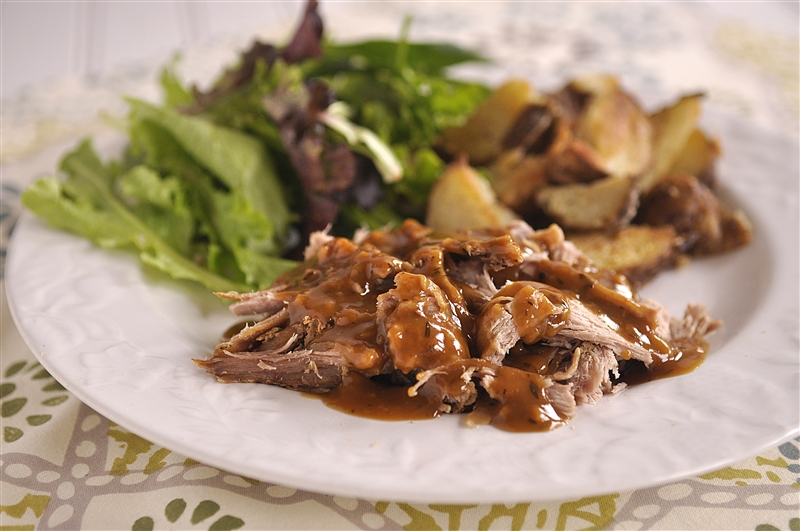 Crock Pot Brown and Maple Sugar Pork Tenderloin