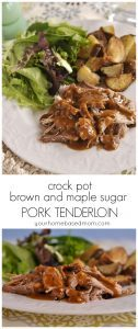 brown sugar pork tenderloin