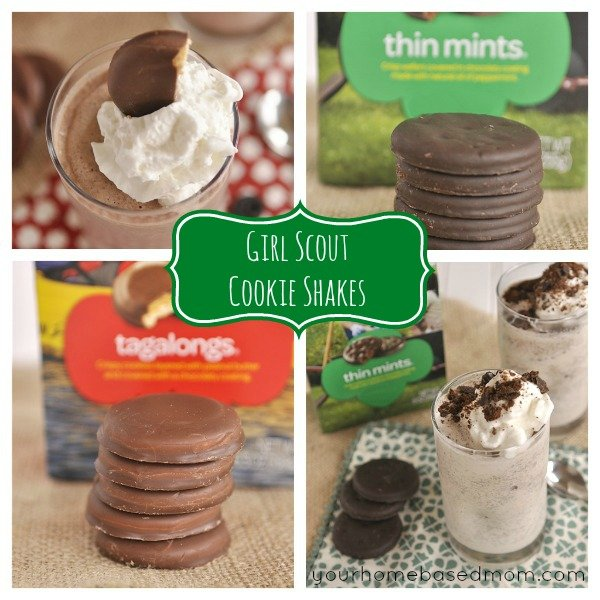 Girl Scount Cookie Shakes