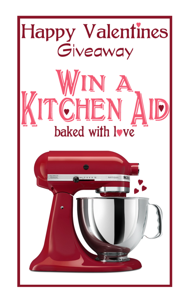 Kitchenaid Valentines Giveaway