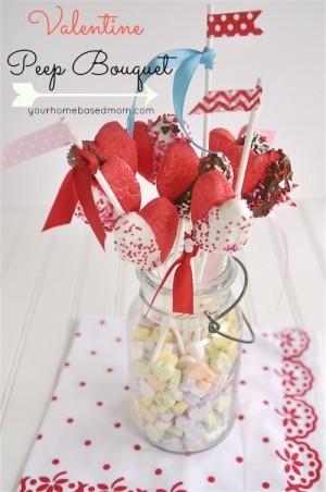 Valentine Peeps Bouquet