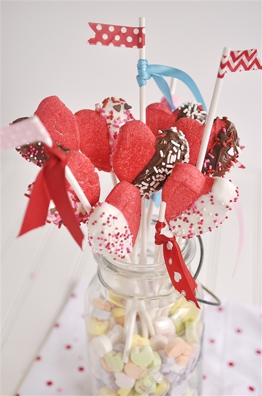 Peep Valentine Bouquet