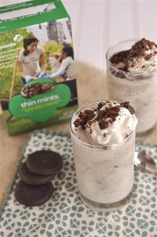 Thin Mint Cookie Shake