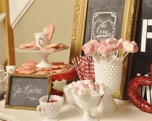 Valentines Day Hot Chocolate Bar