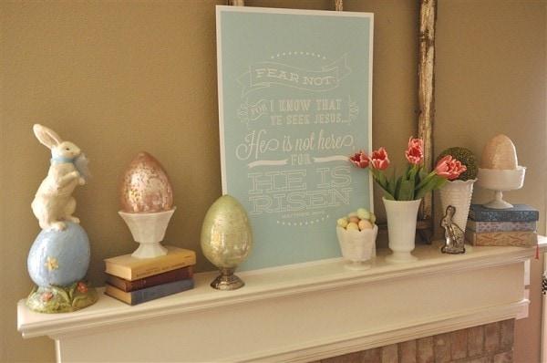 Easter Decor 2013