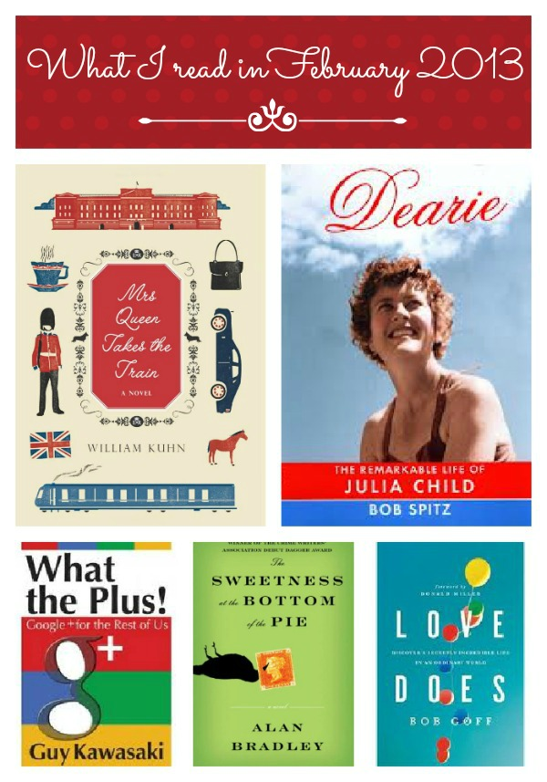 February 2013 Recommended Reads