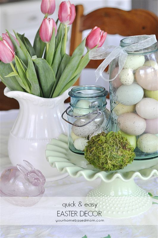 Easter decor 2013 for Decor quick