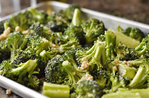 Broccoli With Parmesan Cheese Roasted broccoli with parmesan cheese ...