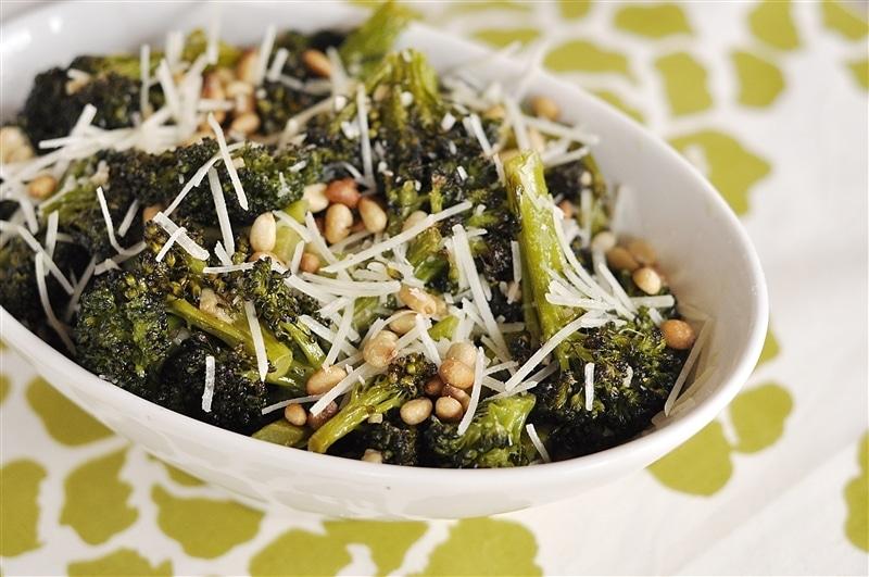 Roasted Broccoli yourhomebasedmom.com