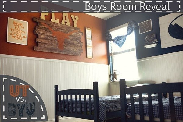 boys room reveal