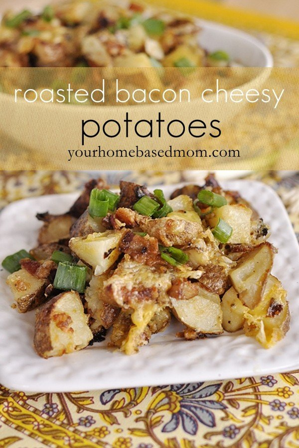 Cheesy Potatoes for 50 People http://www.thirtyhandmadedays.com/2013/03/roasted-bacon-cheesy-potatoes/