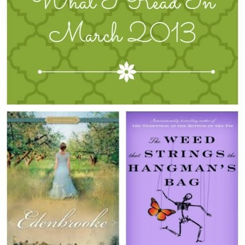 March 2013 Recommended Reads