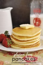 Gluten Free Pancakes – fluffy and light!