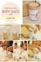 Bath Salts for Mother's Day {Activity Day Idea}