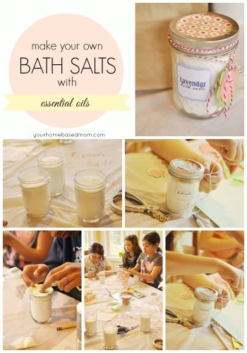 Took An Idea From Pinterest And Made It My Own Since I Had: Bath Salts For Mother's Day {Activity Day Idea}