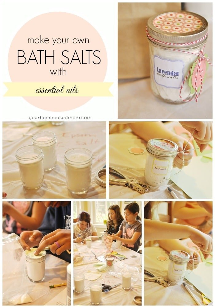 make your own bath salts