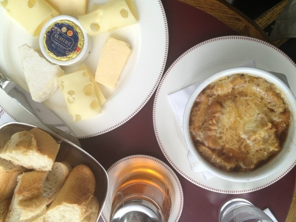 cheese plate in paris