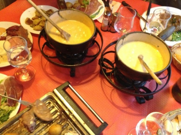fONDUE dINNER Paris