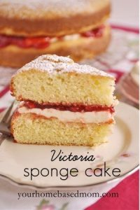 Victoria Sponge Cake Your Homebased Mom