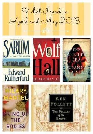 April and May 2013 Recommended Reads