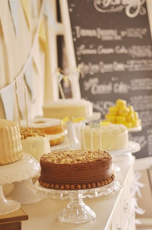 Cake Buffet Wedding