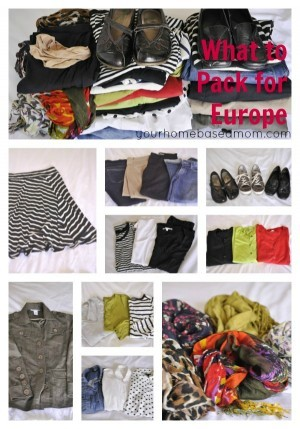 What to Pack for Travel to Europe