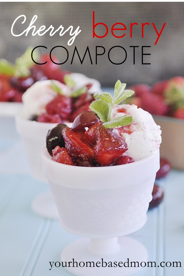 cherry berry compote