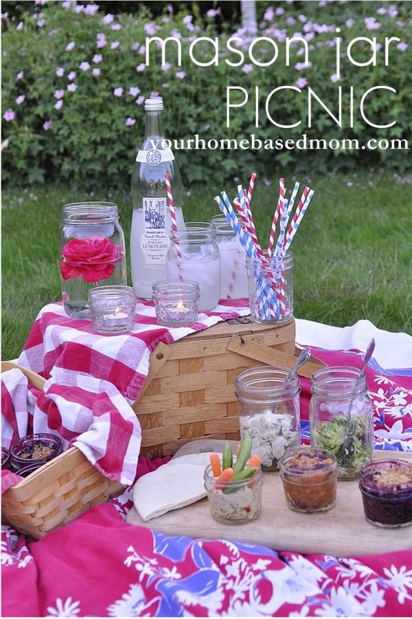 mason jar picnic