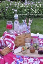 Mason Jar Picnic Ideas