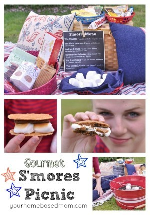 Gourmet S'mores Picnic