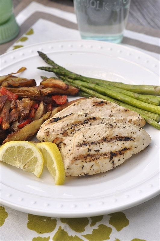 Grilled Chicken Recipe With Tarragon-Mustard Marinade ...